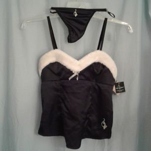 Baby Phat teddy thong panty set Cat charm Sexy